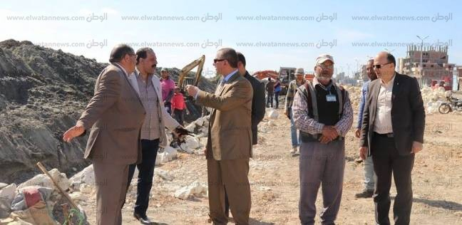 بالصور| محافظ كفرالشيخ يتابع المرحلة الثانية من حماية بحيرة البرلس