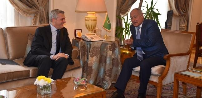 """""""أبو الغيط"""" يستقبل المفوض السامي للأمم المتحدة لشؤون اللاجئين"""