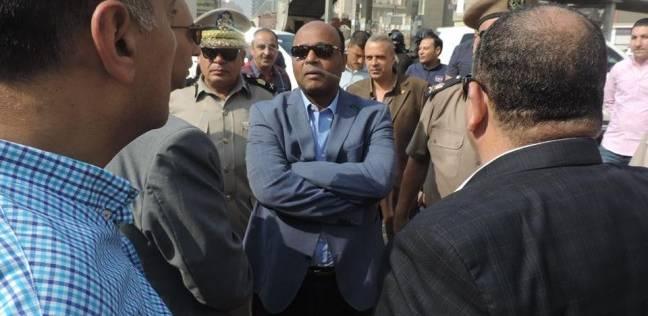 بالصور| مدير أمن الغربية يتفقد التمركزات الأمنية بالمحلة