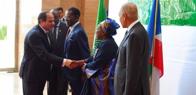 الوطن تنشر نص كلمة الرئيس عبد الفتاح السيسي في مالابو