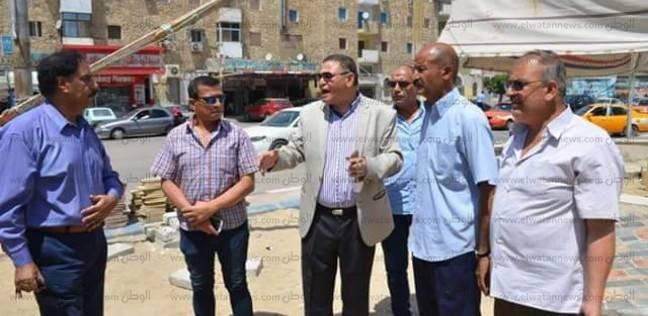 حملات نظافة ورفع إشغالات بنطاق دائرة حي ثاني في الإسماعيلية