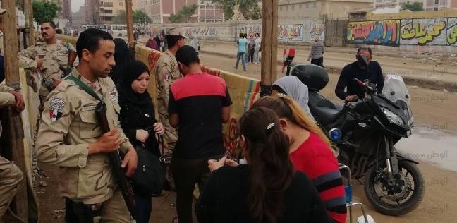 """إقبال كثيف من الناخبين على """"عائشة أم المؤمنين"""" في شبرا الخيمة"""