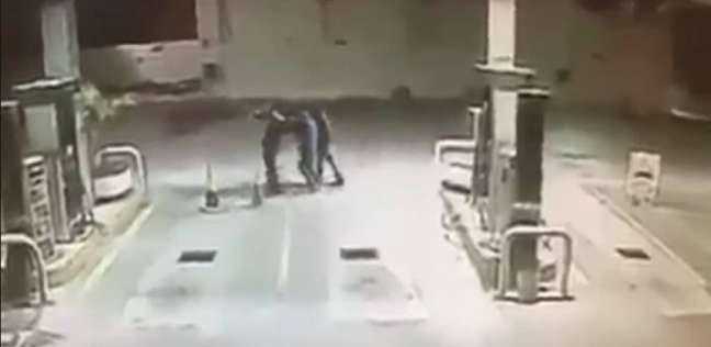 كلب يمنع سرقة قرب محطة وقود في المكسيك وينقذ صاحبه