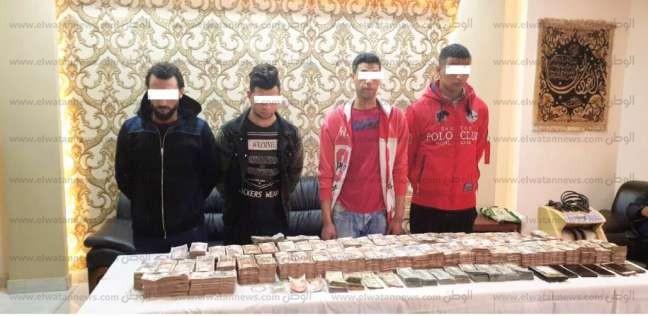 تفاصيل ضبط 5 متهمين سرقوا 8 ملايين جنيه من خزينة فندق في المهندسين