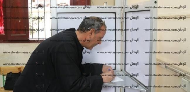 زحام أمام لجان فوة الانتخابية بكفر الشيخ