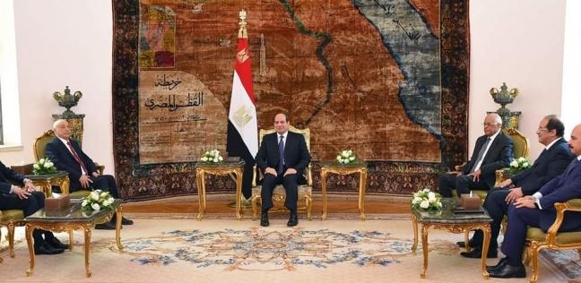 مصر   السيسي: مجلس النواب هو المصدر الفعلي للشرعية في ليبيا