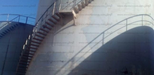 """بالصور  بعد غرق طفل فيه.. أهالي رأس غارب يطالبون بإزالة """"خزان الموت"""""""