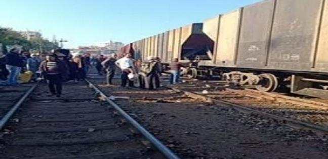 السيطرة على حريق بجرار قطار «طنطا - القاهرة» دون إصابات