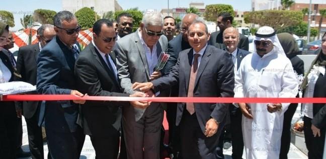 افتتاح أعمال تطوير فرع البنك الأهلي بطور سيناء