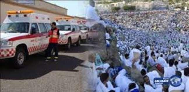 الهلال الأحمر يشارك بـ2459 شخصا في خدمة حجاج بيت الله الحرام