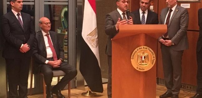 بالصور| أزمات مصدري الحاصلات الزراعية في جلسة بسفارة مصر بألمانيا