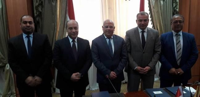 محافظة بورسعيد توقع بروتوكولا لإنشاء 108 محلات و12 مخزنا