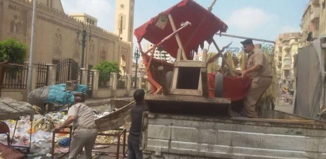 إزالة 410 مخالفات إدارية وتحرير 90 محضر إشغال طريق في القاهرة