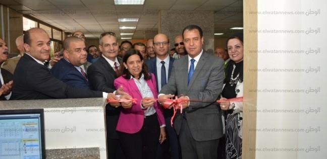 افتتاح المرحلة الأولى من برنامج ميكنة مستشفى الأورام بجامعة أسيوط