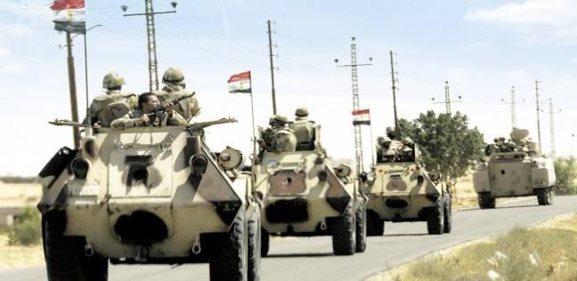 """البيان الـ25 للقوات المسلحة """"سيناء 2018"""": قتل 3 تكفيريين وتدمير عربات"""