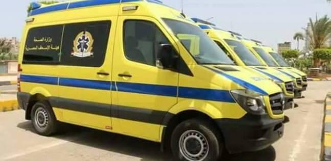 20 سيارة إسعاف لموقع اشتباكات الشرطة وإرهابيين على طريق الخارجة