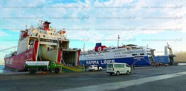 ميناء سفاجا يستعد لتفريغ 19 ألف طن فحم بترولي