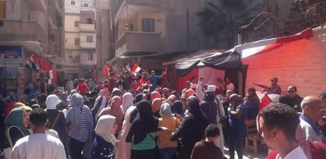 إقبال كثيف من الناخبين على لجان المنتزه بشرق الإسكندرية