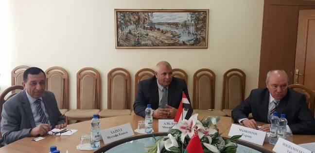 محافظة الوادي الجديد تعقد توأمة عمل مع جومل البيلاروسية