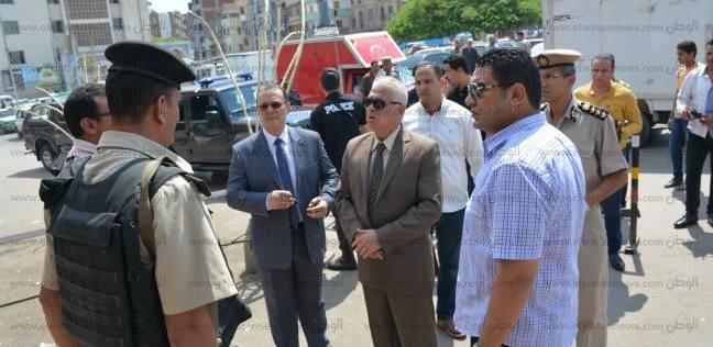 مدير أمن البحيرة يتفقد الخدمات الأمنية بمحيط الكنائس
