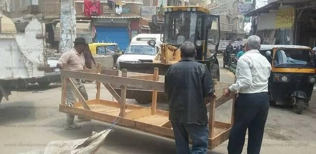 تحرير 40 قضية في حملة مرافق بمدينة مرسى مطروح