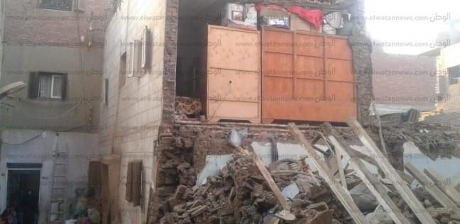 انهيار منزل في الدقهلية ونجاة سكانه