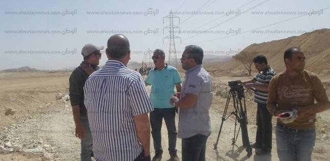 """أسرة برنامج """"عمار يا مصر"""" تصور حلقة عن مدينة نويبع"""