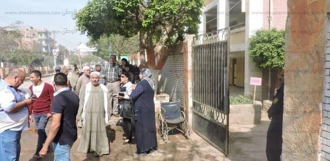 بالصور  زحام أمام لجان الانتخابات بالحامول في كفر الشيخ