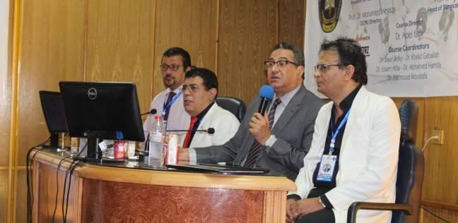 """""""استئصال الرحم بالمنظار"""".. ورشة عمل بمركز الأورام في جامعة المنصورة"""