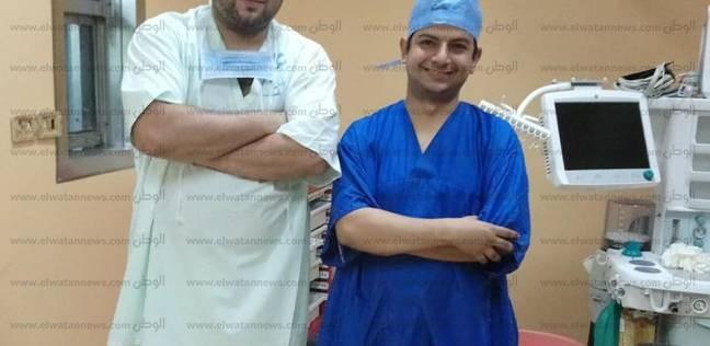 بالصور  نجاح أول جراحة تجميل لطفلة بمستشفى طور سيناء العام