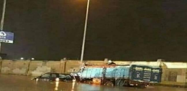 fac02d167 الوطن | مصر | «القاهرة الجديدة» تغرق: سيارات تحت الماء و«برك» فى الشوارع