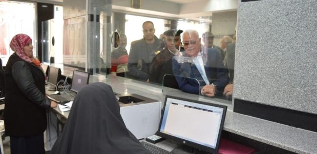 المحافظ يفتتح أعمال تطوير قسم تجنيد وتعبئة بورسعيد