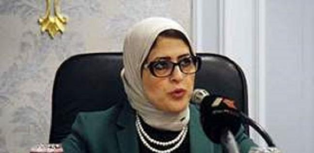وزيرة الصحة تتفقد حالة مصابي حريق محطة مصر بمستشفى الهلال برمسيس