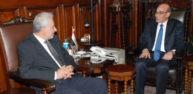 """وزير الزراعة يستعرض مع مدير """"إيفاد"""" مشروعات التنمية المشتركة"""