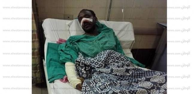 """شقيق أحد مصابي انفجار الدقي: """"التليفون اتفتت في إيده وفاق في المستشفى"""""""