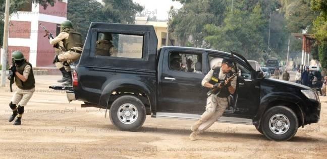 مقتل عاطلين في تبادل لإطلاق النيران مع الشرطة بسوهاج لخطفها سائق