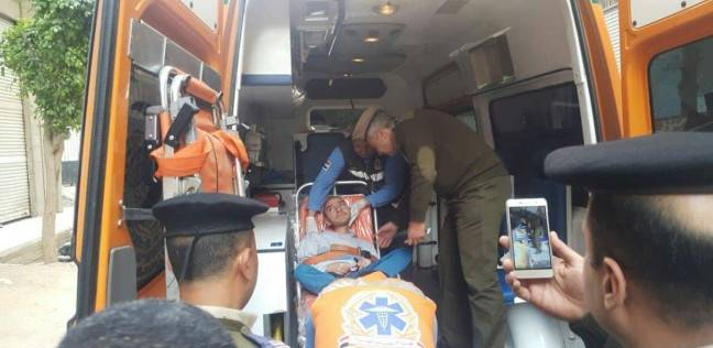 أمن الشرقية يرسل سيارة إسعاف لنقل مريض بضمور العضلات للجنته الانتخابية