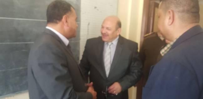 مدير أمن دمياط يتفقد اللجان الانتخابية بالبصارطة