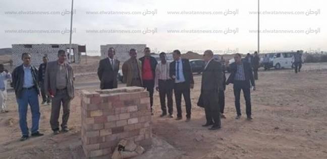 رئيس جامعة أسوان يتفقد أعمال التطوير بمزرعة عنيبة بنصر النوبة