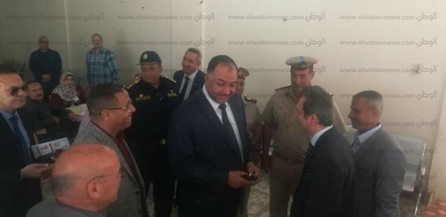 مدير أمن بني سويف يتفقد اللجان الانتخابية.. ويشدد على اليقظة