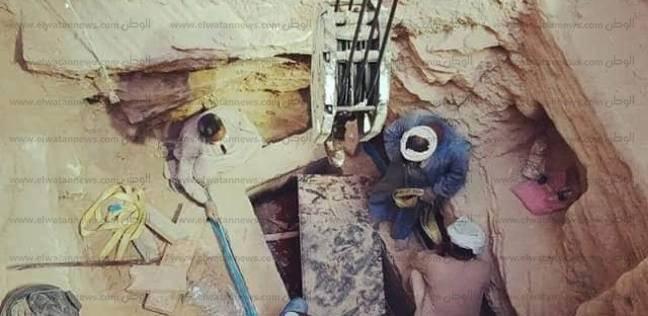 """بدء أعمال الحفر استعدادا لنقل الجزء السلفي لـ""""تابوت الإسكندرية"""""""