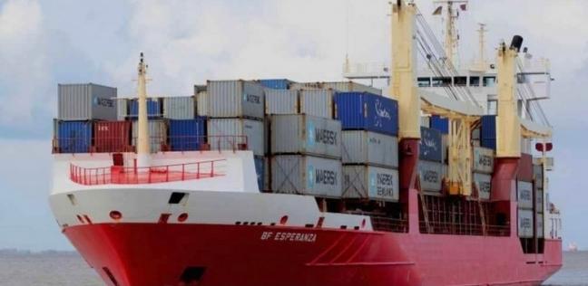 ميناء غرب بورسعيد يستقبل 750 رأس ماشية حية