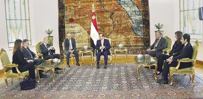 الرئيس لـ«المفوض الأوروبى»: لم نسجل حالة «هجرة غير شرعية» من مصر منذ 2016