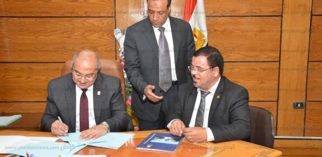 رئيس جامعة أسيوط يوقع بروتوكول تعاون مع الهيئة القومية للاستشعار