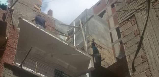حي المنتزه ثان بالإسكندرية يشن حملة لإيقاف بناء مخالف