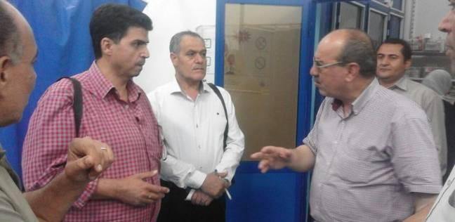 """مدير الطب العلاجي بـ""""صحة الشرقية"""" يتفقد مستشفى كفر صقر المركزي"""
