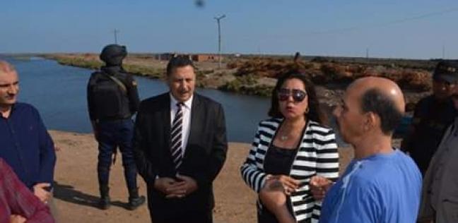 محافظة دمياط تتفقد المزرعة السمكية بقرية الرطمة
