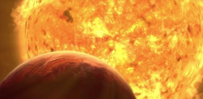 فيديو : المرصد الأوربي الشمس ستتوسع وتلتهم الأرض بعد أن تدمرها
