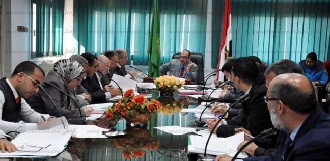 بالصور| محافظ القليوبية يرأس اجتماع مجلس إدارة المناطق الصناعية
