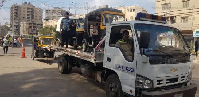ضبط 8 آلاف مخالفة مرورية و1500 دراجة نارية في حملة بالقاهرة
